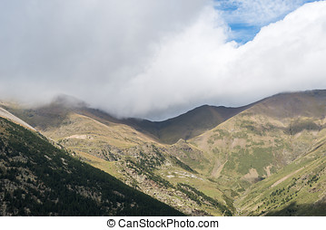 high mountain  - Overview of a high mountain landscape