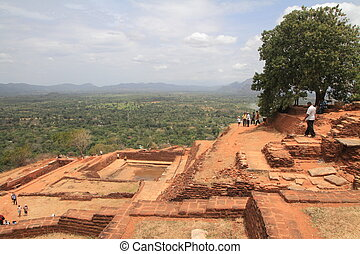 Ancient City of Sigiriya in Sri Lanka