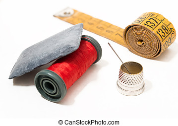dressmaker objects - Various objects dressmaker and...