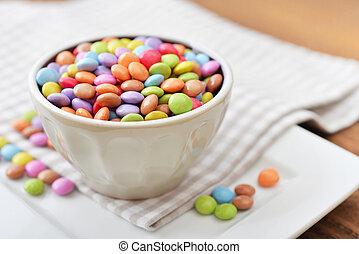 Multicolor, bala doce