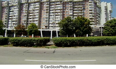 Varna Bulgaria Buildings, streets, districts The view from a...