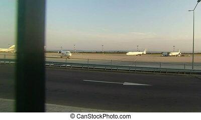 Varna. Bulgaria. Airport.