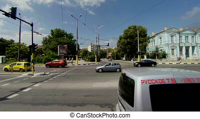 Varna. Bulgaria. Buildings, streets, districts. The view...