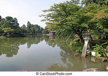 Kenroku-en in Kanazawa, Japan