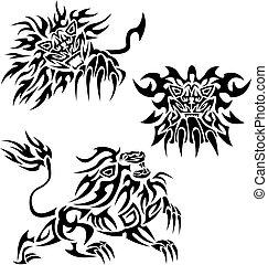 Tribal lions