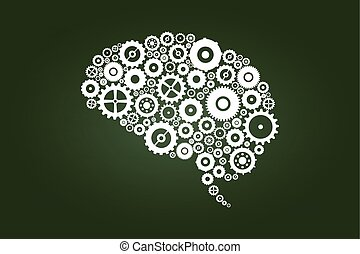 Brain Gears And Cogs