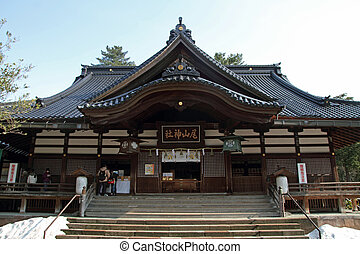 Oyama Shrine in Kanazawa, Japan