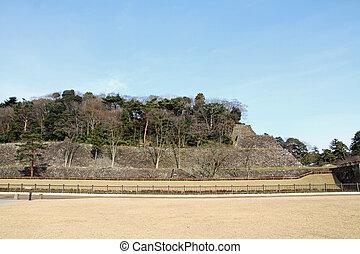 Wall of Kanazawa Castle