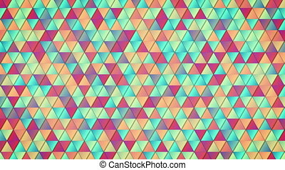 geometric colorful pattern loop