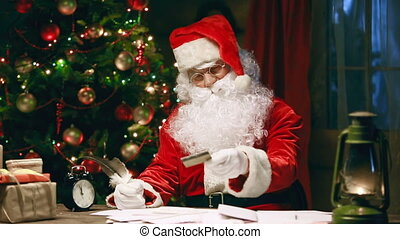 In Reply to your Letter - Santa Claus writing reply to a...