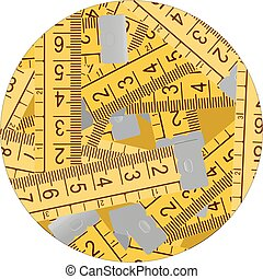 Circle metre - Creative design of cicle meter