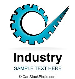Industry icon - Design symbol for repair service or...