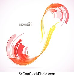 Abstract line background Vector