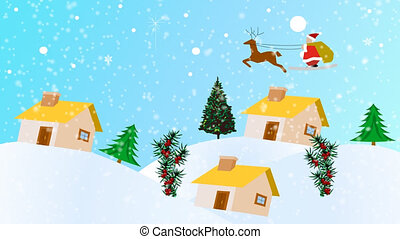 Christmas Animation - High Definition Christmas Animation of...