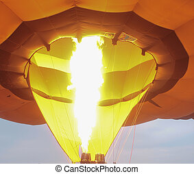 balloon - Images of hot air Balloons festival show at...