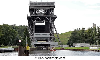 Shiplift of Eberswalde Germany - Shiplift at the Havel river...