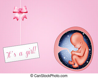 the child is a female