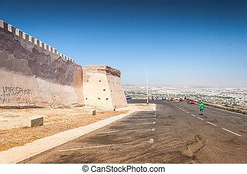 The Casbah at summer day, Agadir, Morocco - Casbah Mountain...