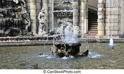 Dresden Nymphen fountain - Nymphenbrunnen in Dresden Zwinger...