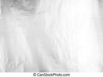 aluminum foil - close up of an aluminum foil as a background