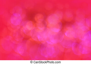 Bokeh red lights Christmas background