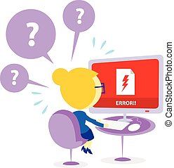File is Corrupt Error Alert - A Woman Got Panic finding her...