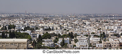 Tunisia Capital city - Tunis-Tunisia Capital city panorama...