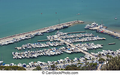 Tunis-Tunisia parking for yachts port 18072014