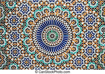 moroccan vintage tile background - moroccan tile background