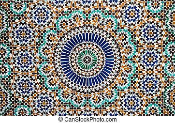 moroccan vintage tile background - moroccan tile background