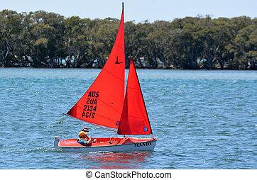 Sailing in Gold Coast Queensland Australia