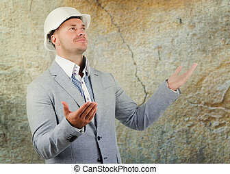 Structural engineer pleading ignorance or a large crack in a...