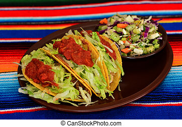 Mexican Food and Cuisine - Taco - Taco. A traditional...