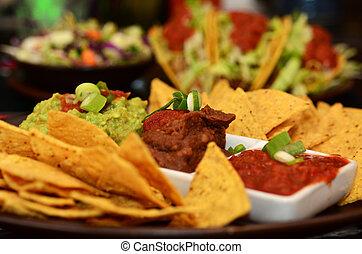 mexicano, alimento, -