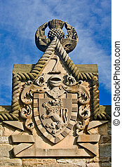 Shield of William Wallace Monument, Stirling, Scotland