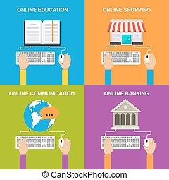 Online service concepts
