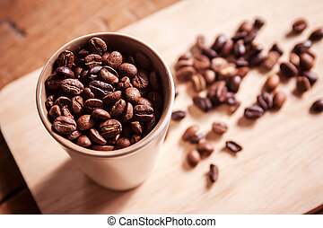 Fresh coffee beans - Fresh coffee beans And continues to do...