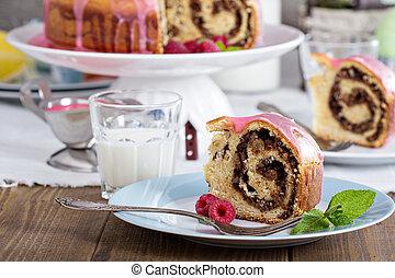 """Sweet bread for Easter - Italian bread """"Gubana"""" for Easter..."""