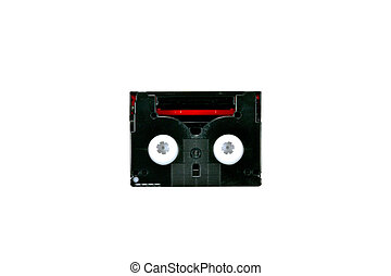 cassette tape icon isolated on white background