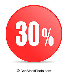 30 percent web icon