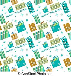 presents pattern for chtistmas time