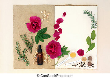Love Potion Ingredients - Love potion ingredients over...