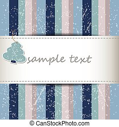winter grunge full color background with stripes in vintage...