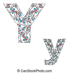 Letter Y. ABC element in vector. - ABC element in vector....