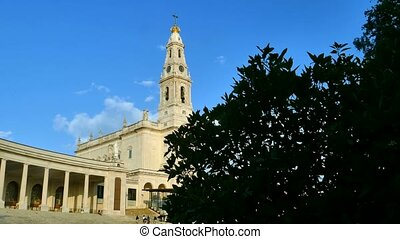 4K - The Fatima Sanctuary, Portugal - Fatima Sanctuary and...