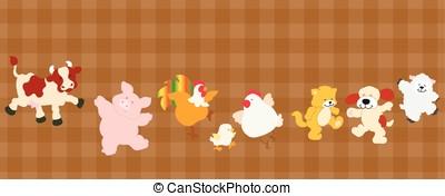 Farm critters set