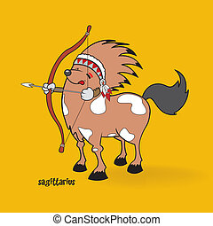 funny zodiac sign sagittarius - unusual cute looking...
