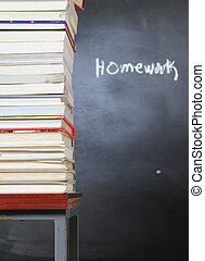 Homework - Overlapped books