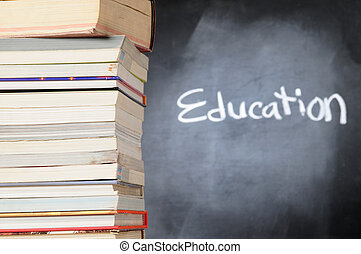 Education - Overlapped books