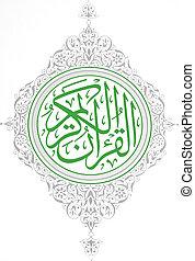 Koran front page